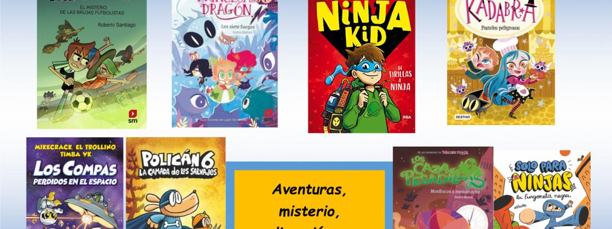 NOVEDADES DE LITERATURA INFANTIL PARA EL VERANO