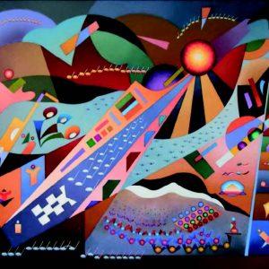 """Exposición de pintura de Joaquín Ferrer Guallar: """"Criptogramas"""""""