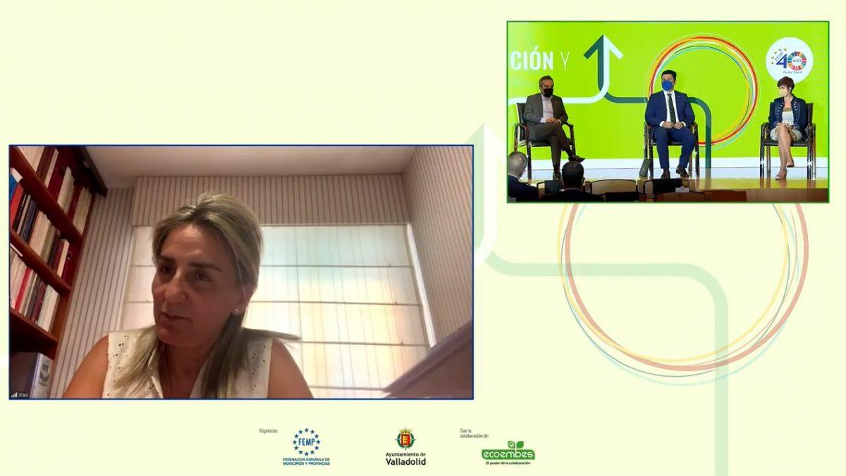 https://www.toledo.es/wp-content/uploads/2021/06/milagros-tolon_femp_ecoembes-1200x676.jpg. Milagros Tolón comparte en un foro sobre Economía Circular los proyectos inminentes para Toledo en cuestión de sostenibilidad