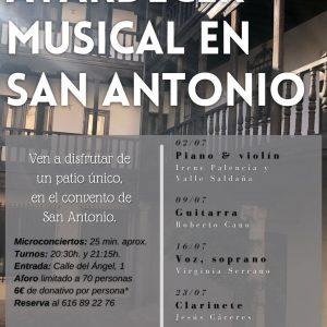 Atardecer musical en San Antonio: Jesús Cáceres (Clarinete)
