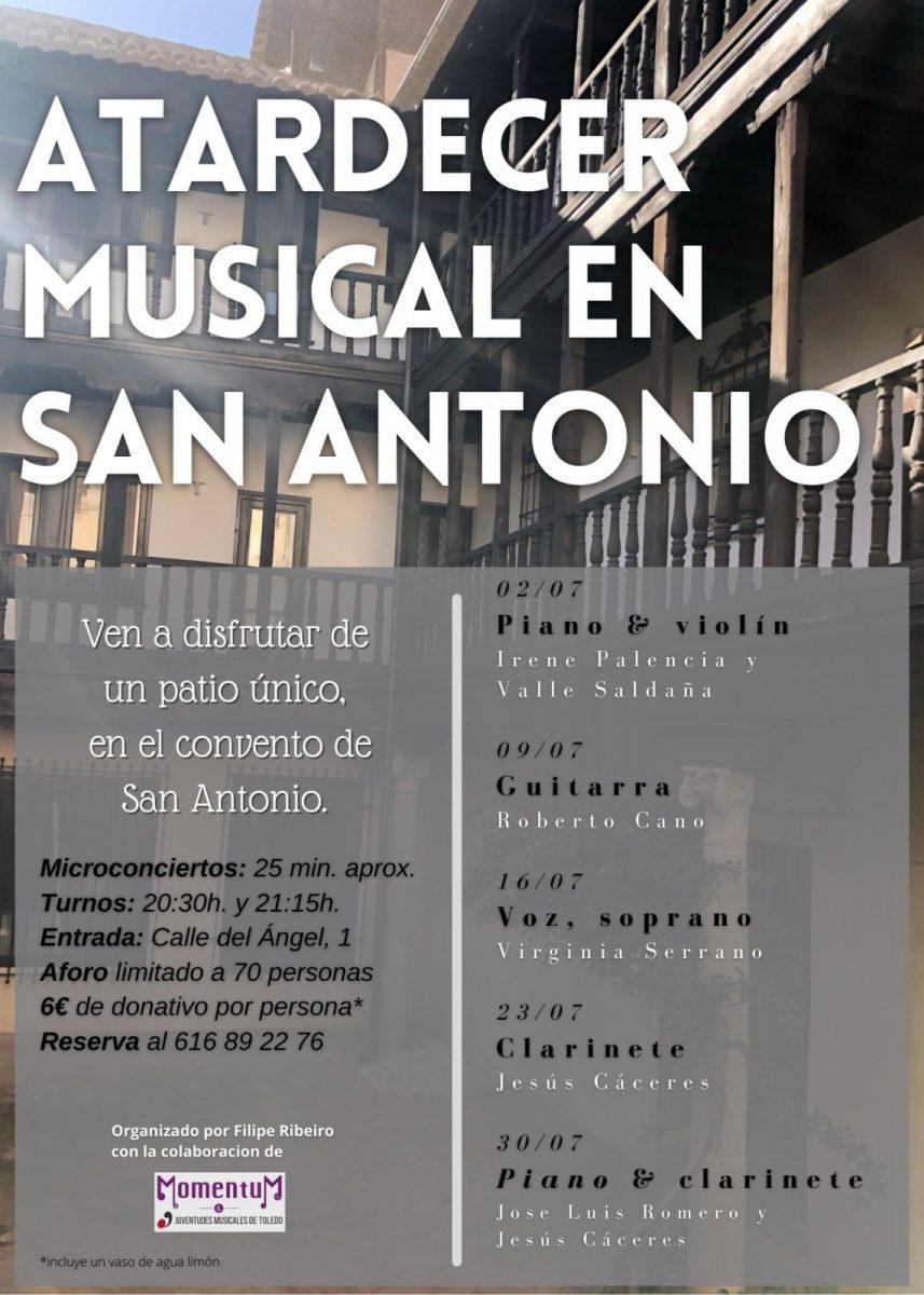 https://www.toledo.es/wp-content/uploads/2021/06/san-antonio2-857x1200.jpg. Atardecer musical en San Antonio: Virginia Serrano (Soprano)
