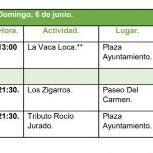 l Ayuntamiento reprograma espectáculos de este sábado ante el aviso meteorológico de nivel naranja para la ciudad de Toledo