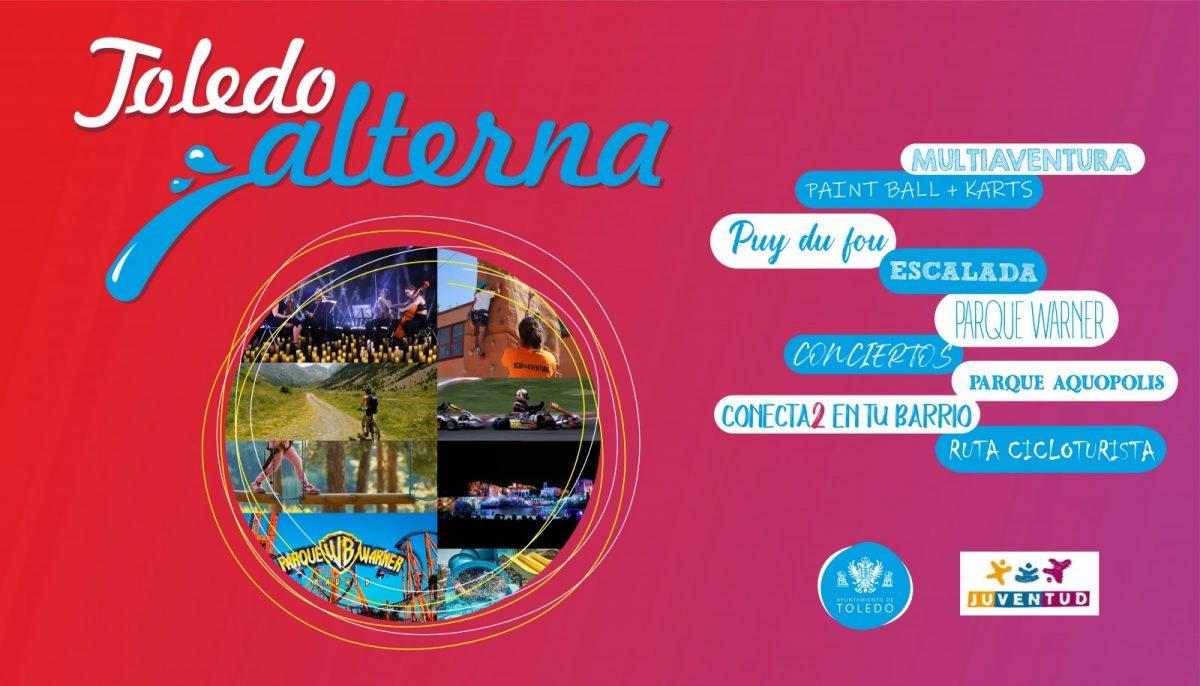 https://www.toledo.es/wp-content/uploads/2021/06/toledo-alterna-monitor-1200x686.jpg. Programa TOLEDO ALTERNA 2021