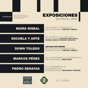 Exposición Colectiva de Pintura y Dibujo de la Asociación Down de Toledo
