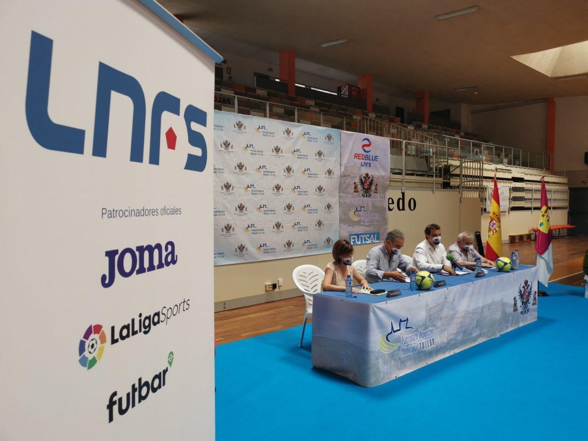https://www.toledo.es/wp-content/uploads/2021/07/20210722_firma_convenio-3-1200x900.jpg. Toledo contará a partir de otoño con una Academia Red Blue de la Liga Nacional de Fútbol Sala tras suscribir un convenio