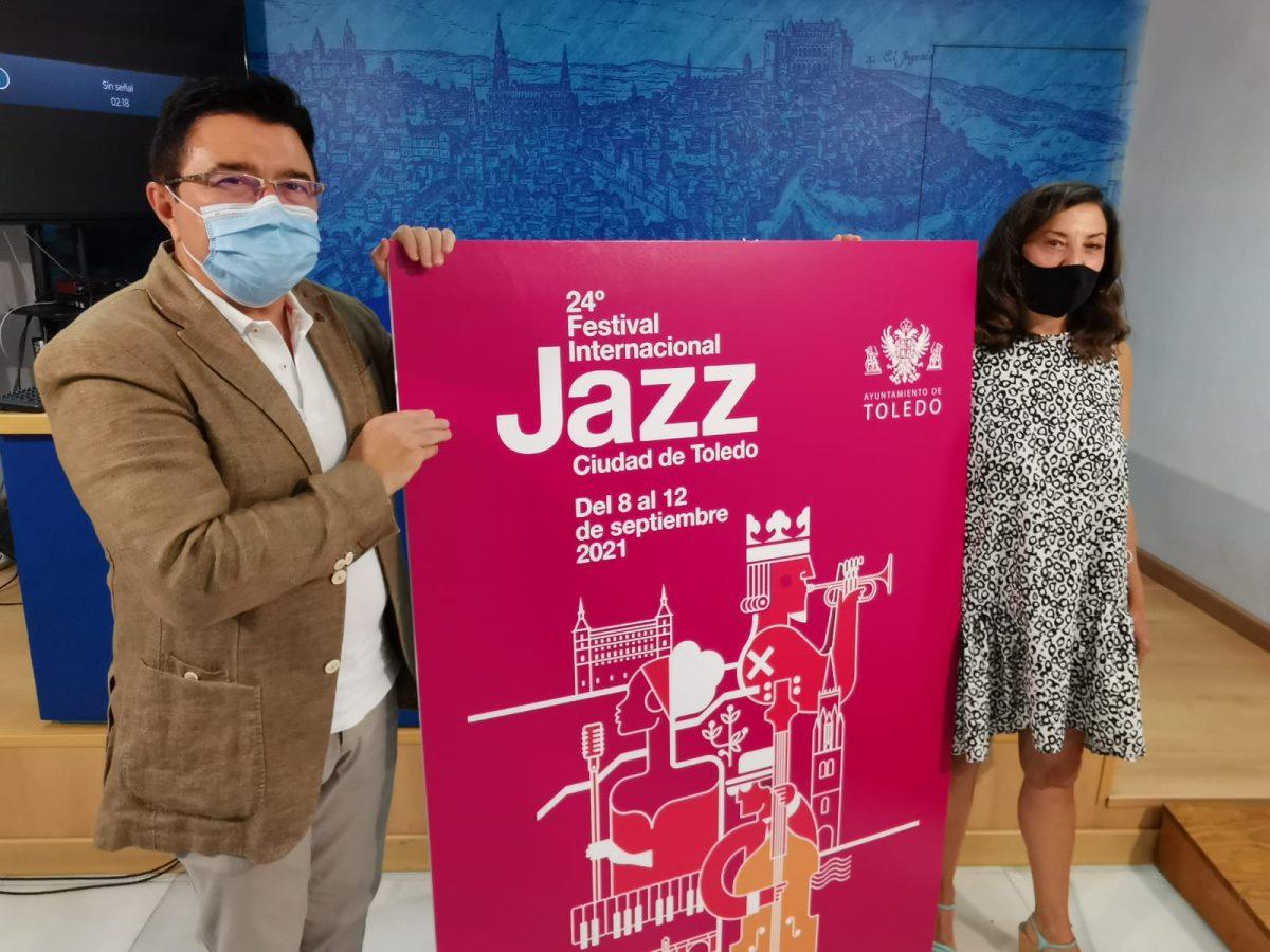 """https://www.toledo.es/wp-content/uploads/2021/08/20210825_festival_jazz-1200x900.jpeg. La 24º edición del Festival Internacional de Jazz Ciudad de Toledo contará """"gran variedad y máxima calidad contrastada"""