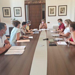 a Junta de Gobierno aprueba la clasificación de ofertas para la producción y desarrollo del espectáculo 'Luz Toledo 2021'