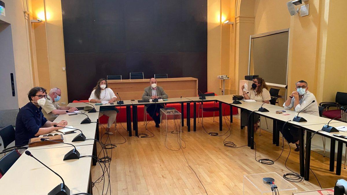 https://www.toledo.es/wp-content/uploads/2021/08/reunion-plan-sostenibilidad-turistica-1200x675.jpg. El Consistorio comparte con el sector el Plan de Sostenibilidad Turística que aspira a los Fondos Europeos