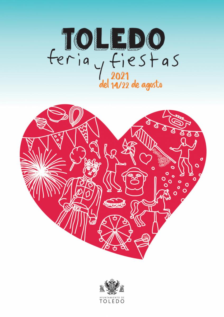 https://www.toledo.es/wp-content/uploads/2021/08/toledo-agosto-2021-feria.png. El musical infantil 'Disnemanía y el desván mágico' y el desfile de moda de José Sánchez, destacan este jueves, sexto día de Feria