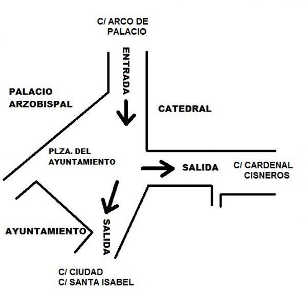 00 Plano informativo Luz Toledo plaza Ayuntamiento
