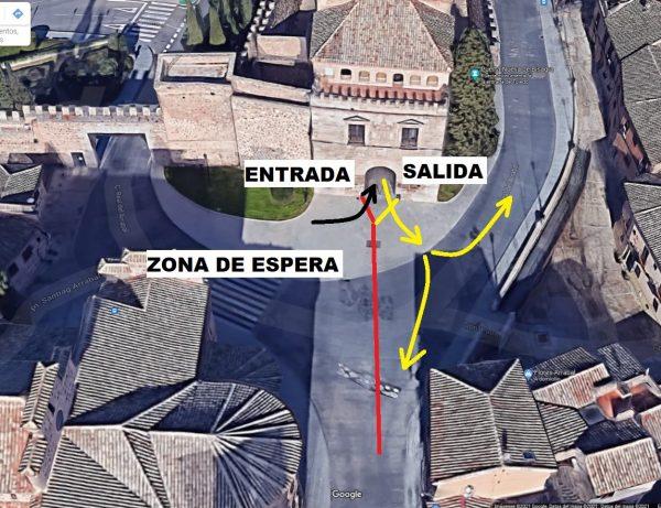 01 Plano informativo Luz Toledo Puerta de Bisagra