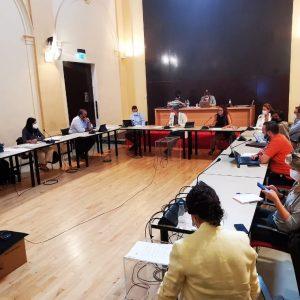 a Comisión de Urbanismo aborda el estudio informativo y de impacto ambiental de la conexión de Azucaica con el Polígono