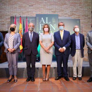 a alcaldesa destaca el apoyo de Acción Cultural Española a la muestra de Alfonso X como un gran empuje para la efeméride