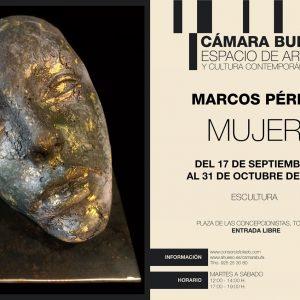 """Cámara Bufa. Exposición de escultura """"Mujer"""" de Marcos Pérez."""