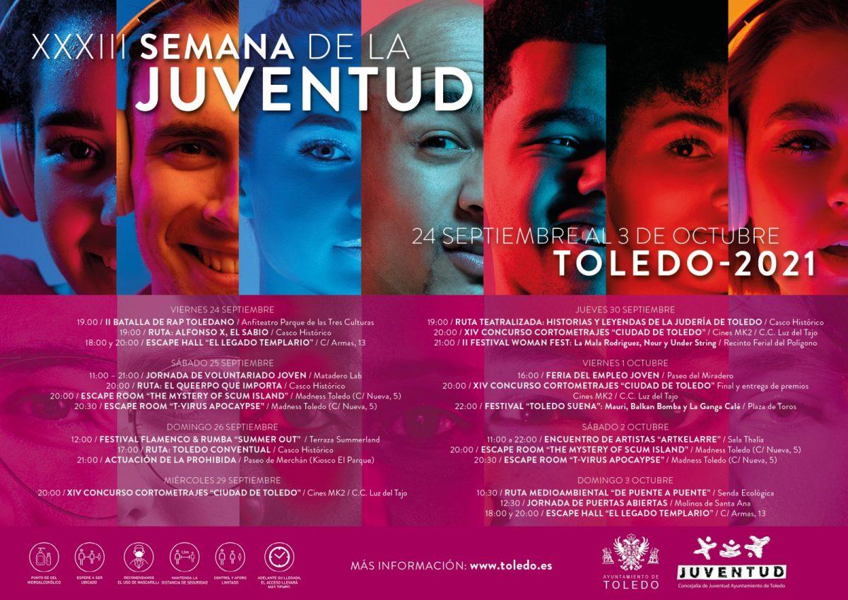 https://www.toledo.es/wp-content/uploads/2021/09/semana_juventud_ayto_2021_online-1200x849.jpg. XXXIII Semana de la Juventud